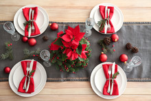 Beautiful Table Setting For Ch...