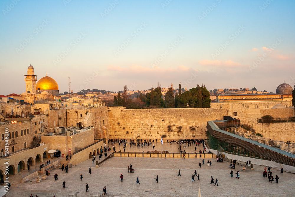 4eead5a2a Western Wall Jerusalem Israel #241548207 - Tramwaj - Fototapeta ...