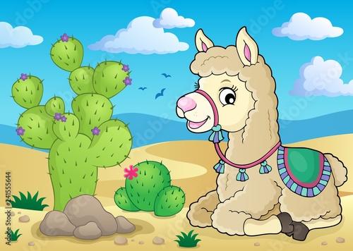 Llama theme image 3