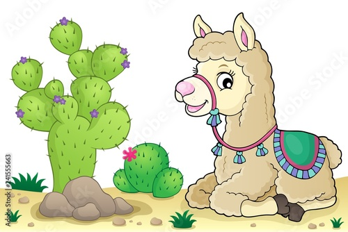 Llama theme image 4