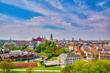 View of Lublin