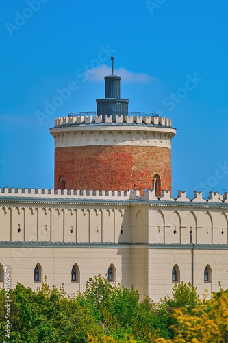 Spoed Foto op Canvas Historisch geb. Tower in Lublin Castle