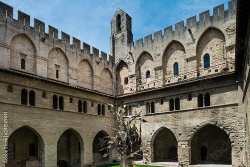 Photo Papstpalast in Avignon in Südfrankreich