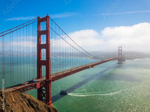 Valokuvatapetti Bridge Golden Gate at San Francisco