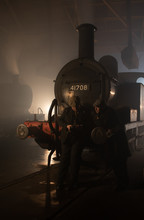 Night Shift At Barrow Hill Roundhouse
