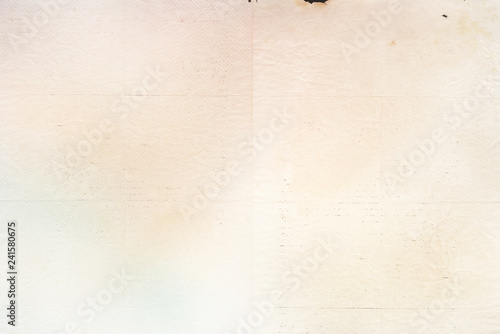 Obraz na plátně Light vintage paper background texture – old retro recycled paper