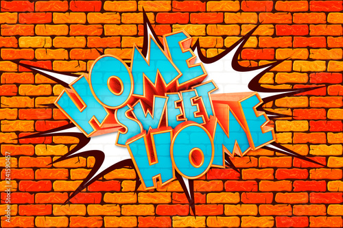napis-przyslowie-home-sweet-home