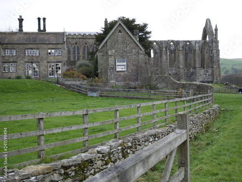 view of Bolton Abbey Canvas Print