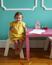Smiling Young Toddler Sitting
