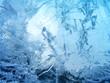 Leinwandbild Motiv Abstract ice texture
