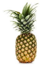 Pineapple Isolated Against Whi...