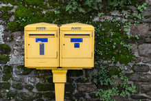 Two French Letterboxes, With T...