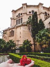 Malaga / Spain - November 26 2016: The Iconic Buildings Of Malaga For Editorial Use Only