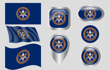 Flag Of The US Marshals Service