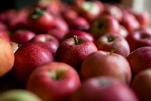 Close-up Of Fresh Red Apples At Home