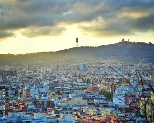 Fotografie, Obraz  ville barcelone