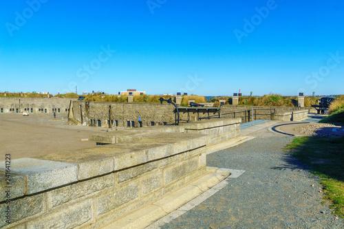 Walls of Halifax Citadel Fototapete