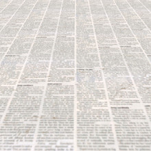 Newspaper With Old Vintage Unreadable Paper Texture Background