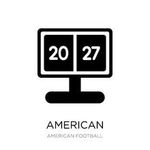 American Football Scores Icon ...