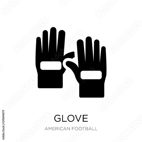 Fotografija  glove icon vector on white background, glove trendy filled icons