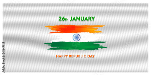 Fotografía  indian republic day 26 january 1950, and for india Independence Day Celebration