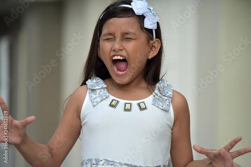 Stressful Female Adolescent