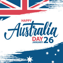 Happy Australia Day, January 2...
