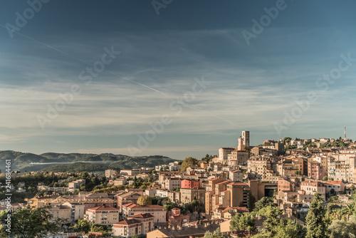 Obraz na plátne Ville de Grasse France Parfums Panoramique