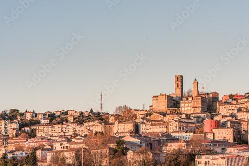 Fotografia, Obraz  Ville de Grasse France Parfums Panoramique