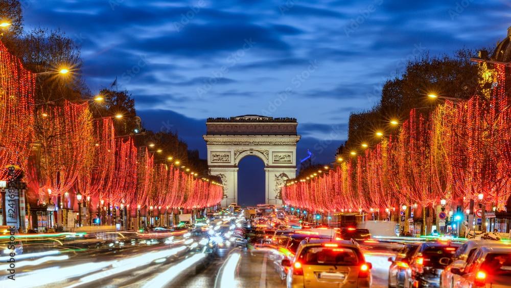 Fototapety, obrazy: Paris by night