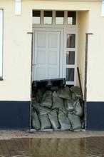 A Door Has Been Blocked With S...