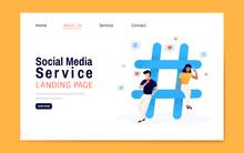 Social Media Service Landing P...