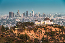 Griffith Observatory And The S...