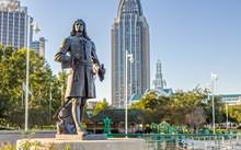 Pierre D'Iberville Statue In C...