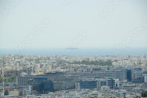 Fotografie, Obraz  Vue de la ville d'Athènes