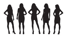 Businesswomen Isolated Vector ...