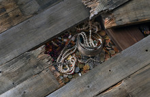 Treasure Of Coins And Jewels Under The Floor Boards