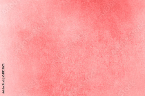Patchy Papery Background Texture in Fading Coral Canvas Print