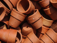 Background Of Clay Pot