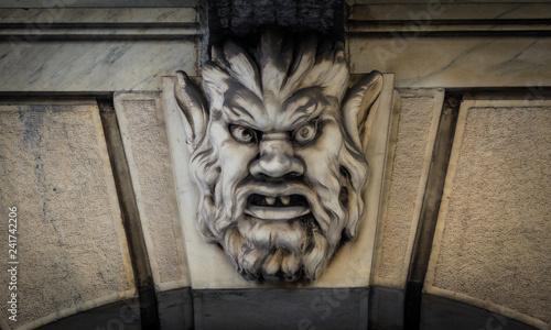 Photo Mask of stone