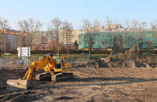 Construction Site - Mechanical Digger