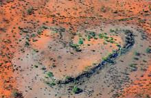 Australia, NT, Outback, Heartlike Formation