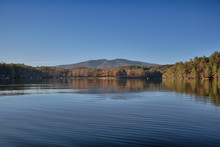 """""""Late Afternoon"""" Mount Mitchell From Lake James"""