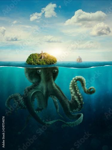 Photo Fantasy Spooky Island
