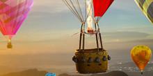 Empty Basket Hot Air Balloon B...