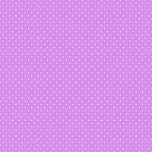Polka Dots Seamless Pattern - Tiny White Polka Dots On Pink Background