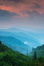 Sunrise In The Smoky Mountains...