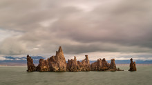 Tufa At Mono Lake, Near Lee Vining, CA.