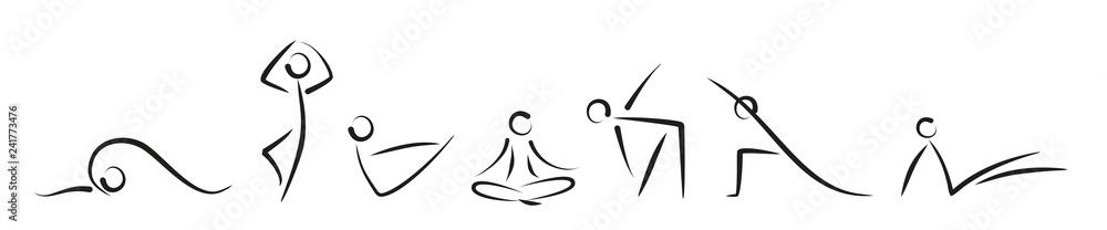 Fototapeta yoga0401b