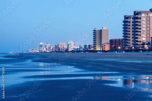Fotografie, Obraz  Beach in South Padre Island, Texas